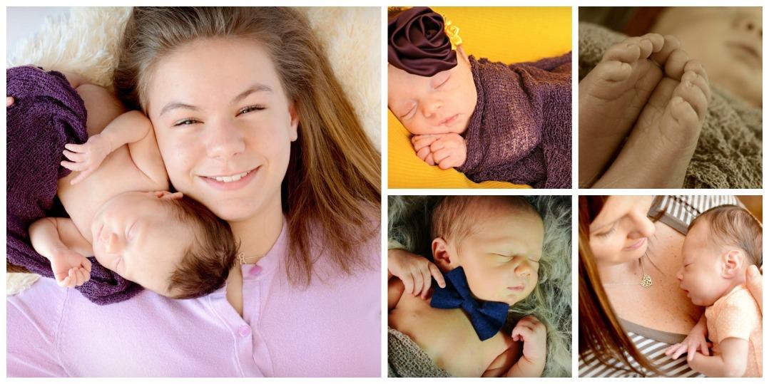 Newborn Collage